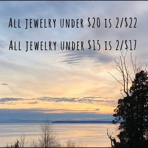 All jewelry under $20 is 2 for $22